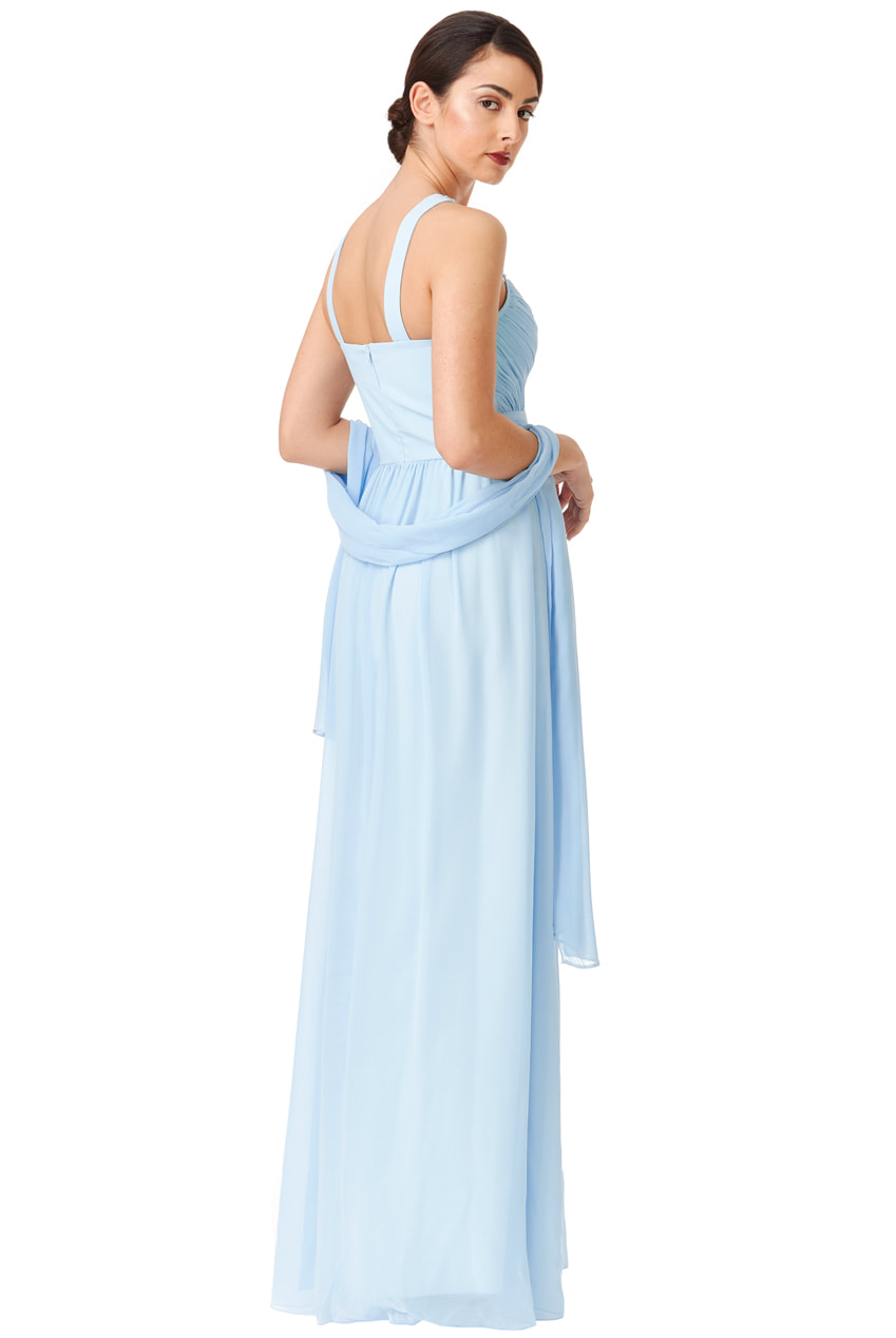 87a7a68b27ebfd Light Blue Satin Evening Gown – DACC